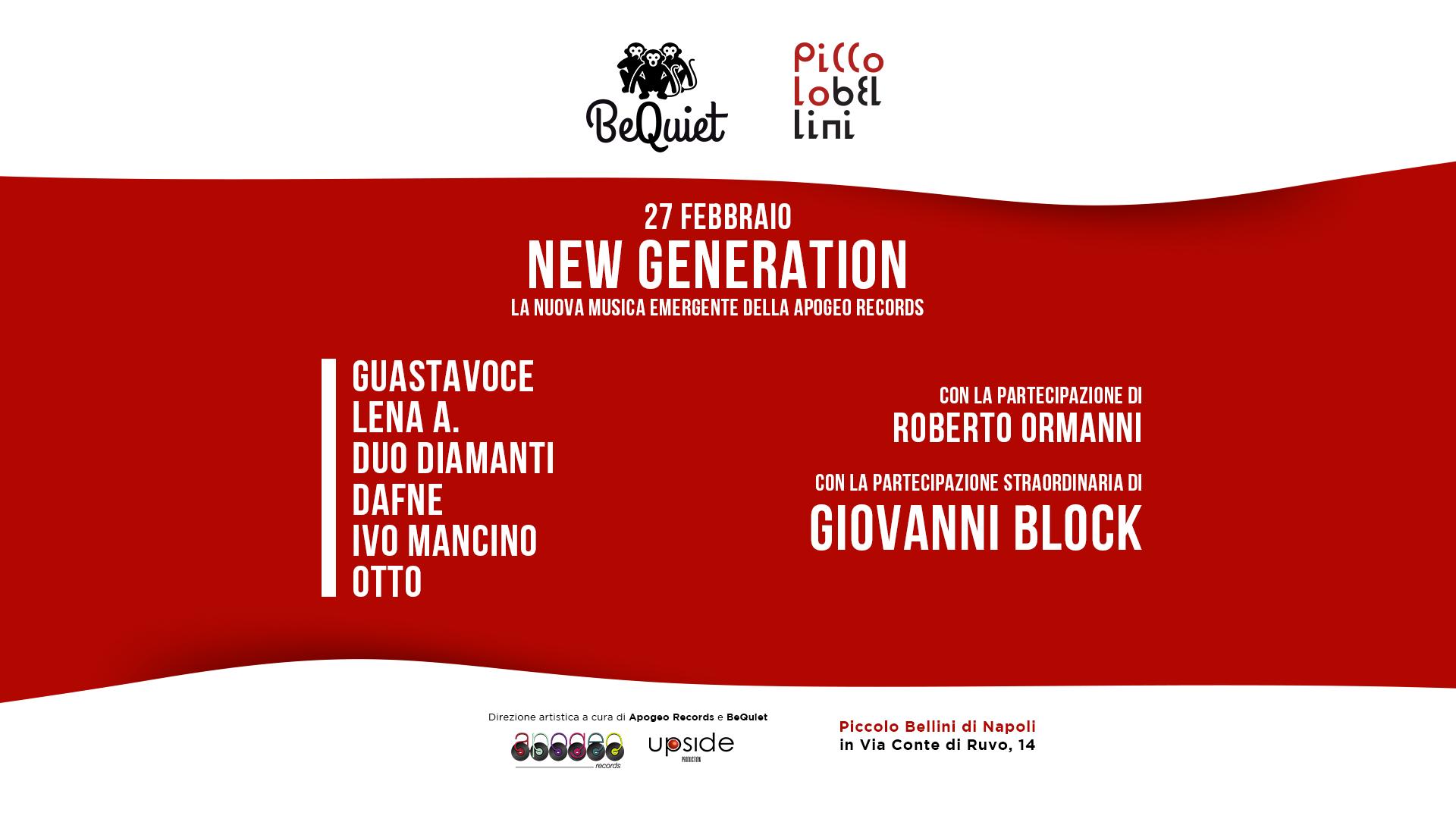 New Generation Piccolo Bellini